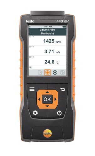 testo 440 dP monitoimimittari